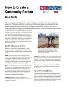 How to Organize a Community Garden cover